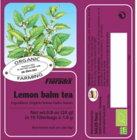 Lemon Balm Tea Bags